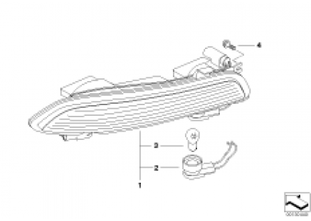 Rear light bumper
