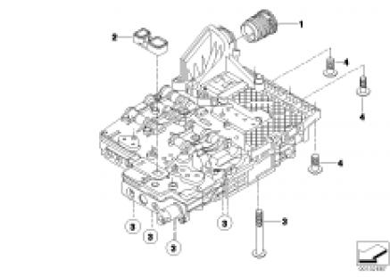 GA6HP19Z Mechatronics mounting parts