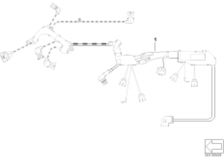 wiring harness, engine ignition module