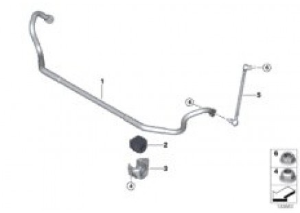 Stabilizer, front