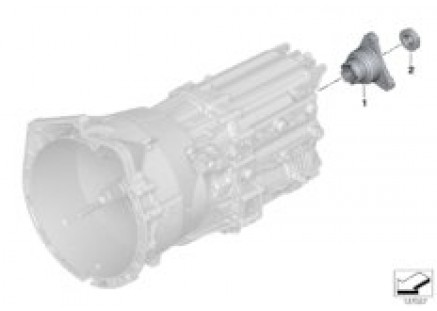 GS6-53BZ/DZ Drive-/Output shaft