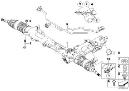 Hydro steering box-Active steering (AFS)