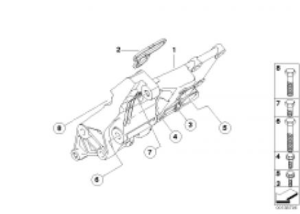 Alternatormounting parts