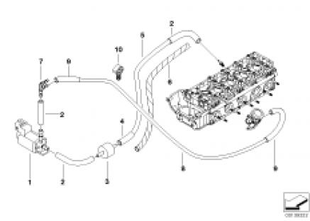 Air pump f vacuum control