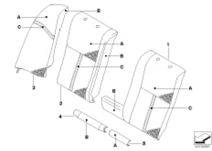 I.through-loading S.KlimaLeather,rr seat