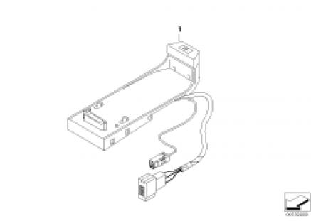Bluetooth SA644 hands-free retrofit kit