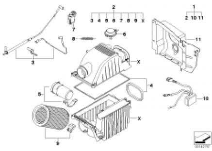 John Cooper Works air filter system