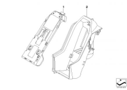 Single parts, SA 633, center console
