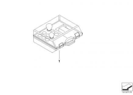 Spare bulbs box