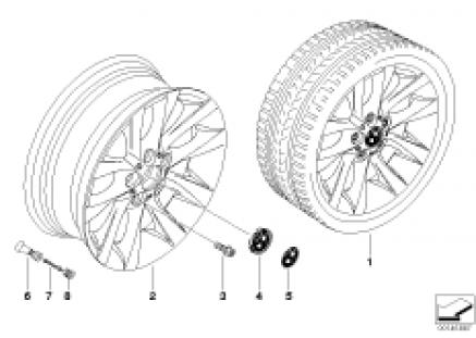 BMW alloy wheel M V-spoke 217