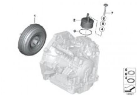 GA6F21WA torque converter/oil cooler