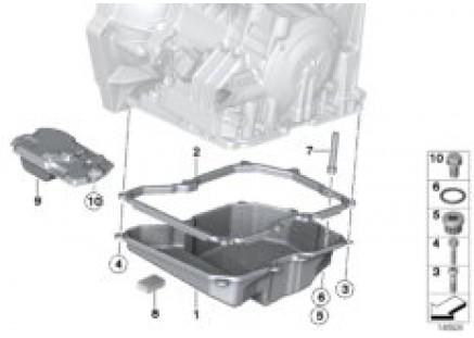 GA6F21WA - oil pan