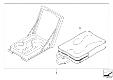 Cup holder-module