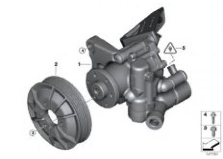 Power steering pump/Active steering