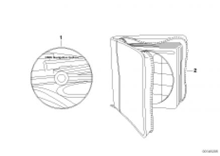 Navigation CD/DVD