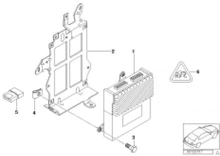 Hifi and top-hifi system amplifier