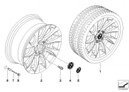 BMW LA wheel turbine styling 201