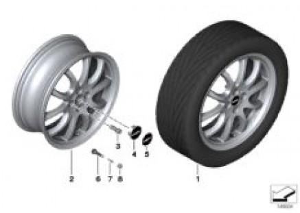 JCW LA wheel Double Spoke R105