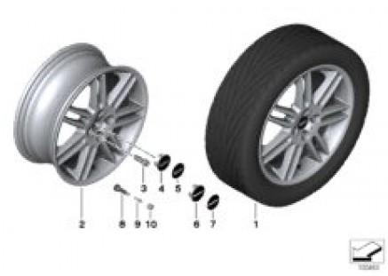MINI alloy wheel double spoke 99
