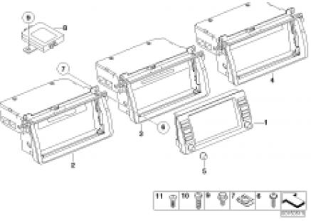 on board monitor / TV amplifier