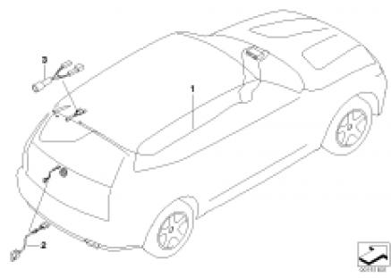 Audio wiring harness