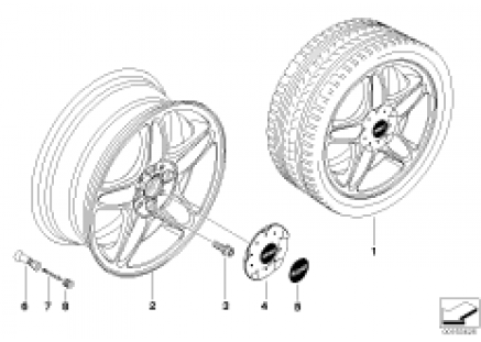 MINI LA wheel, 5-star blaster 103