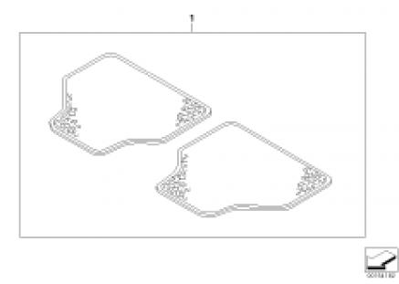 Lambskin floor mats