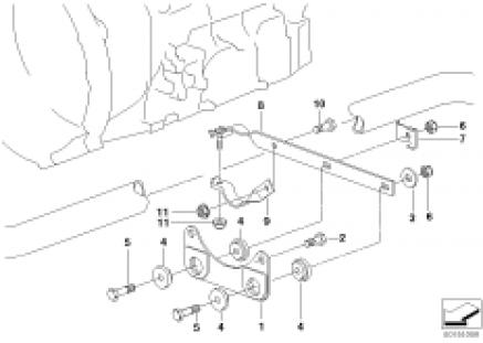 Suspension parts exhaust