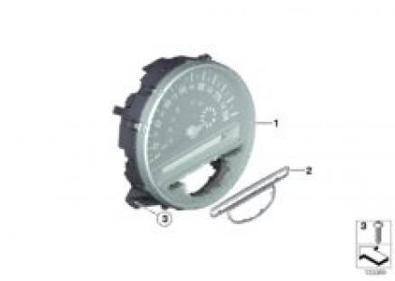 Speedometer, instrument panel