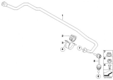Stabilizer, rear