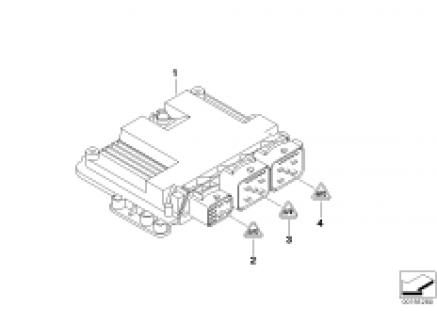 Base control unit DME / MED172
