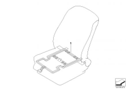 Electr. compon. seat occupancy detection