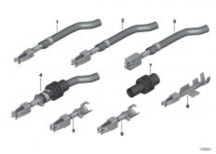 Double leaf spring contact