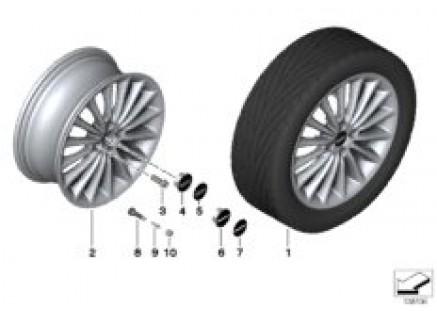 MINI alloy wheel Multi-Spoke 108