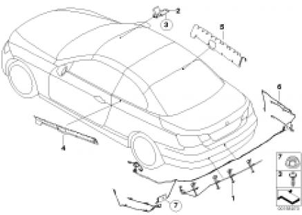 Components, radio antenna