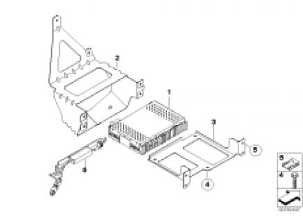 IBOC receiver module/IBOC splitter