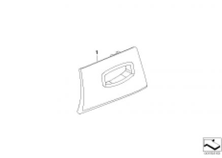 Individual cover RF key insert