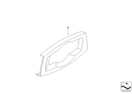 Individual trim, light operating unit