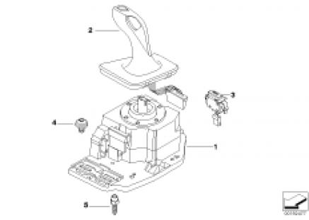 Gear selector switch
