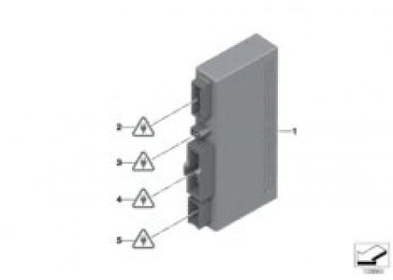 ECU for convertible top module