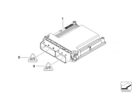 Basic control unit DME / MV1746