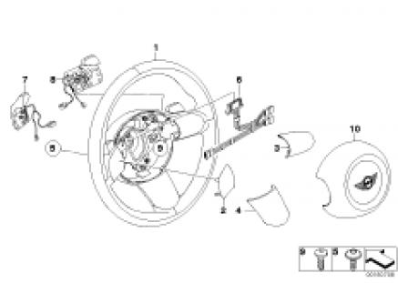 Sports steer. wheel airbag Steptronic