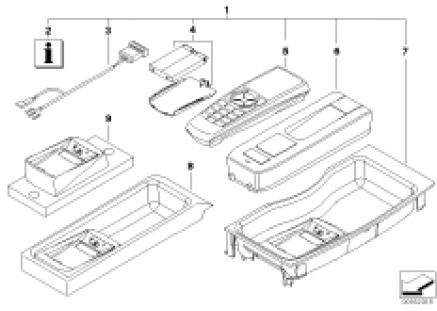 Retrofit kit, Bluetooth control/receiver