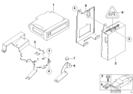 GPS computer / video module
