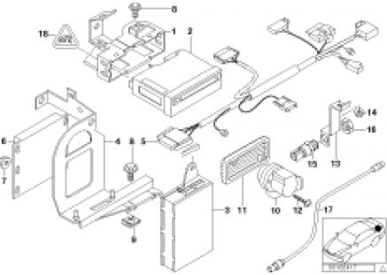 Navigation system/video module