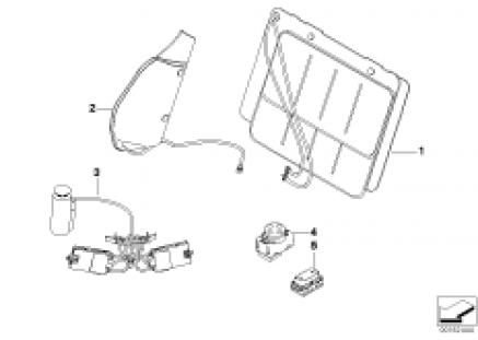 Seat, front, lumbar