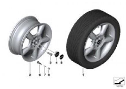 MINI LA wheel 5 Star Pace Spoke 110