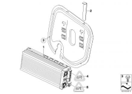 Amplifier HiFi Prof. / Harman Kardon