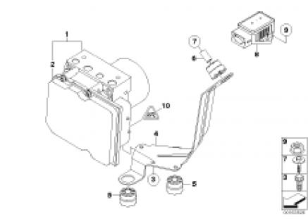 Hydro unit DXC/fastening/sensors