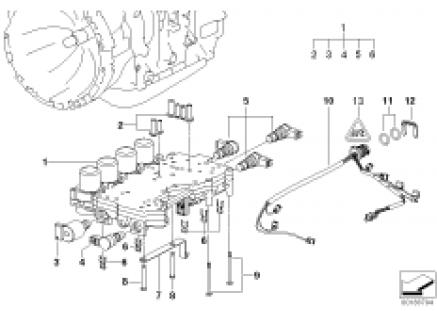 A5S360R/390R ctrl unit with mount.parts
